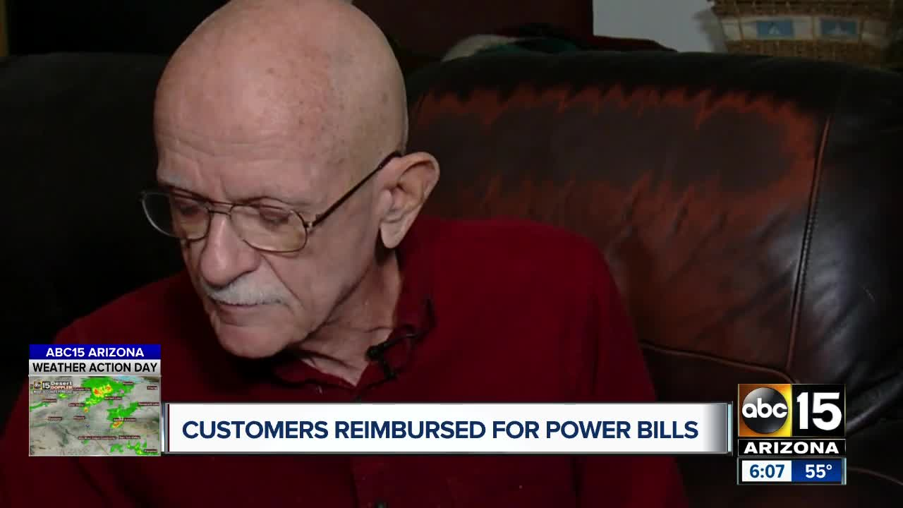 Several APS customers reimbursed for their utility bills