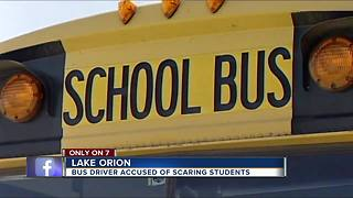 Lake Orion parents fuming about bus driver they say is tormenting their kids