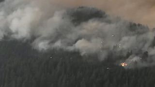 Evacuation Orders Issued as Eagle Creek Fire Spreads - Video