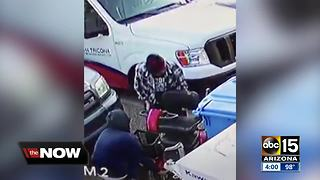 Thieves steal woman's scooter in Glendale