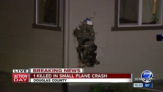 1 killed in small plane crash in Douglas County