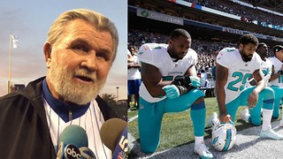 Mike Ditka WARNS Players About Kneeling During National Anthem During 9/11 Game - Video