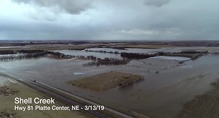 Shell Creek flooding