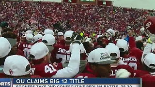 Oklahoma beats Oklahoma State, 38-20; claims 10th Big 12 Championship - Video