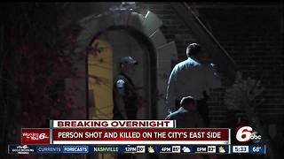 Man found shot to death on porch at east side house - Video