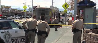 Man stabbed on Las Vegas bus