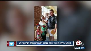 Teacher who died following fall at high school honored at school board meeting - Video