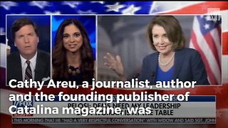 Journalist Thinks Nancy Pelosi Represents All Women and Tucker Carlson Can't Stop Laughing - Video