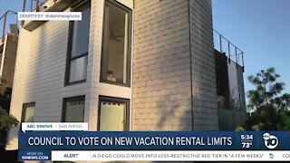 Council to take up vacation rental rules Tuesday