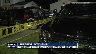 Man shot to death at apartment complex - Video