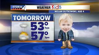 Cold front drops temperatures to 60s
