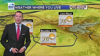 13 First Alert Las Vegas weather updated May 1 morning