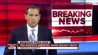 Olivia Mackay: Two teenagers arrested in death of Kenosha 17-year-old - Video