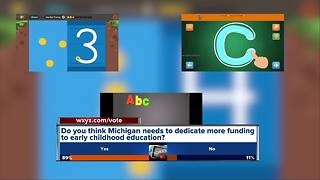 Do you think Michigan should dedicate more funding to early childhood education? - Video