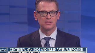 Centennial man shot, killed in Oklahoma - Video