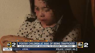 Foster care children at risk for sex-trafficking recruitment - Video