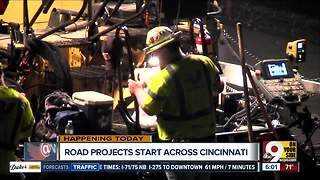 Road projects start across the city - Video