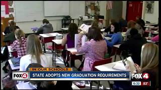 Florida adopts new graduation requirement that could stop kids from graduating - Video
