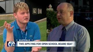 Two applying for open Buffalo School Board seat - Video