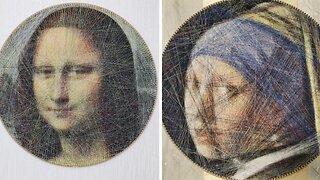 Genius Programmer Uses Algorithms And Sewing Thread To Recreate Classic Portraits