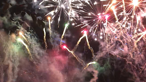 Gorgeous Epcot Reflections of Earth Fireworks show