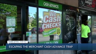 How to get out of the cash advance trap