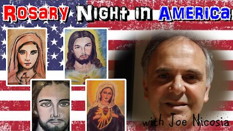 Rosary Night in America- pray for peace