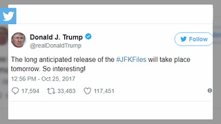 Trump: Secret JFK Files Release Will Be 'Very Interesting' - Video