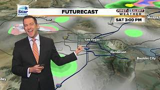 13 First Alert Las Vegas Weather for January 19th Morning - Video