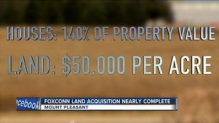Mt. Pleasant closing in on land acquisition for Foxconn plant