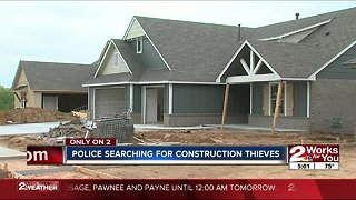 home builders see rise in thefts