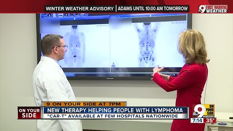 New therapy helping people with lymphoma