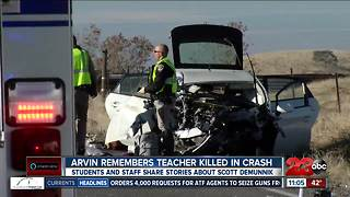 Arvin High School teacher killed in suspected DUI crash on Highway 223 - Video