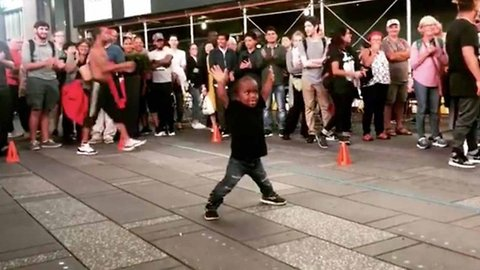 Seven-year-old Wows Internet With Breakdancing Skills Despite Dwarfism