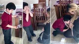Big Brother Moved To Tears After Pregnancy Announcement - Video
