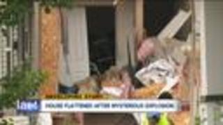 One person dead after house explosion in East Cleveland - Video