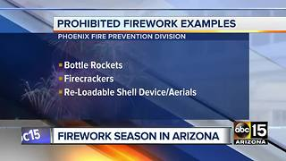 Local Red For Ed nears Arizona deadline; fireworks fire danger; weather cooldown - Video