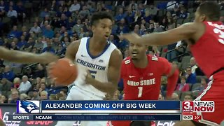 Creighton's Ty-Shon Alexander coming off strong week