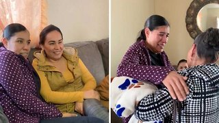 Best birthday surprise – Daughter reunites mum and gran after 23 years apart
