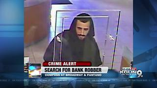 TPD searching for bank robbery suspect - Video