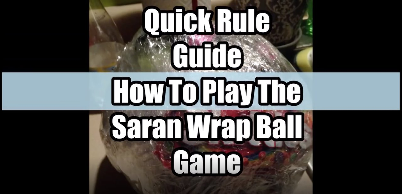 The \'Saran Wrap Ball\' Christmas Party Game Is A Must! • AwesomeJelly.com