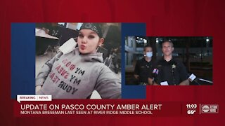 Amber Alert issued for missing 11-year-old girl
