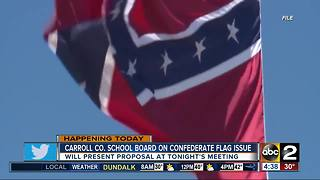 Ban on Confederate items in Carroll County Schools to be discussed - Video