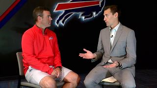 Bills GM Brandon Beane 1-on-1 interview with 7ABC's Joe Buscaglia - Video