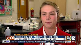 Student Athlete of the week Emily Crusse - Video