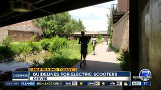 New guidelines for e-scooters in Denver