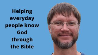 The Bible for Everyday People - Everyday Christian Ep 1