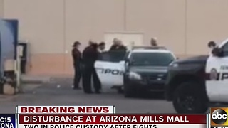 Police situation at Arizona Mills Mall, similar reports across U.S. - Video