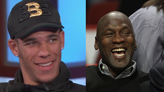 Lonzo Ball Says He Could BEAT Michael Jordan 1-on-1 - Video