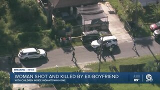 Woman shot and killed at Indiantown home with 6 children inside, Martin County sheriff says